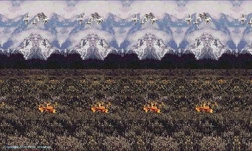 Стерео картинка обьёмные пейзажи